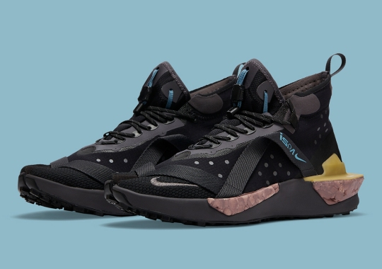 Official Images Of The Nike ISPA Drifter Split In Black