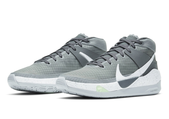 "The Nike KD 13 Is Arriving Soon In ""Cool Grey"""