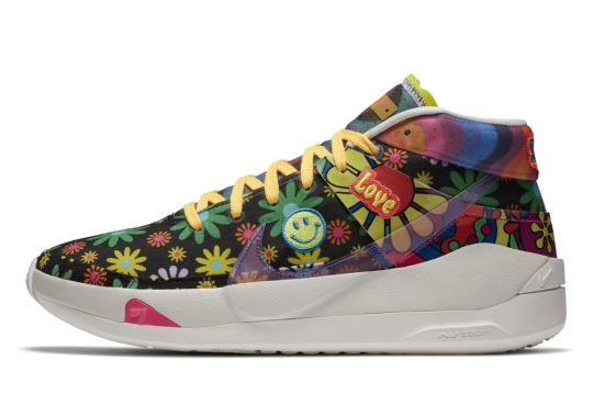 This Nike KD 13 Spreads Love With Retro-Style Hippie Florals