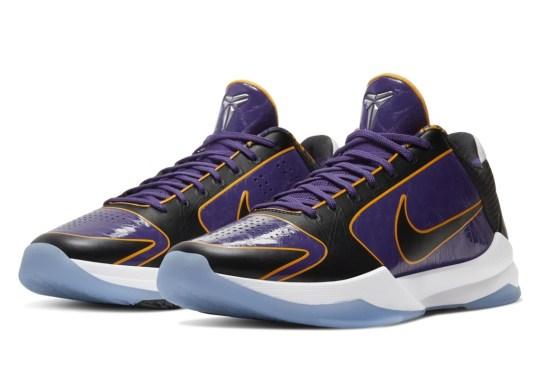"""Nike Kobe 5 Protro """"5x Champ"""" Releasing In Grade School Sizes"""