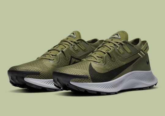 "The Nike Pegasus Trail 2 Is Now Available In ""Medium Olive"""