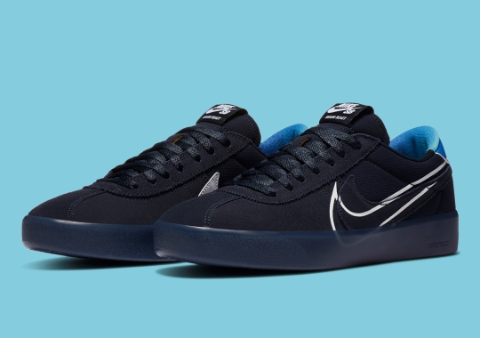Nike SB Bruin React Gets Dressed In Dark Obsidian