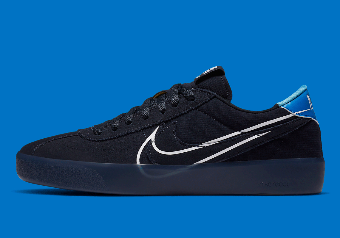 Nike SB Bruin React T Dark Obsidian CV5980-400   SneakerNews.com