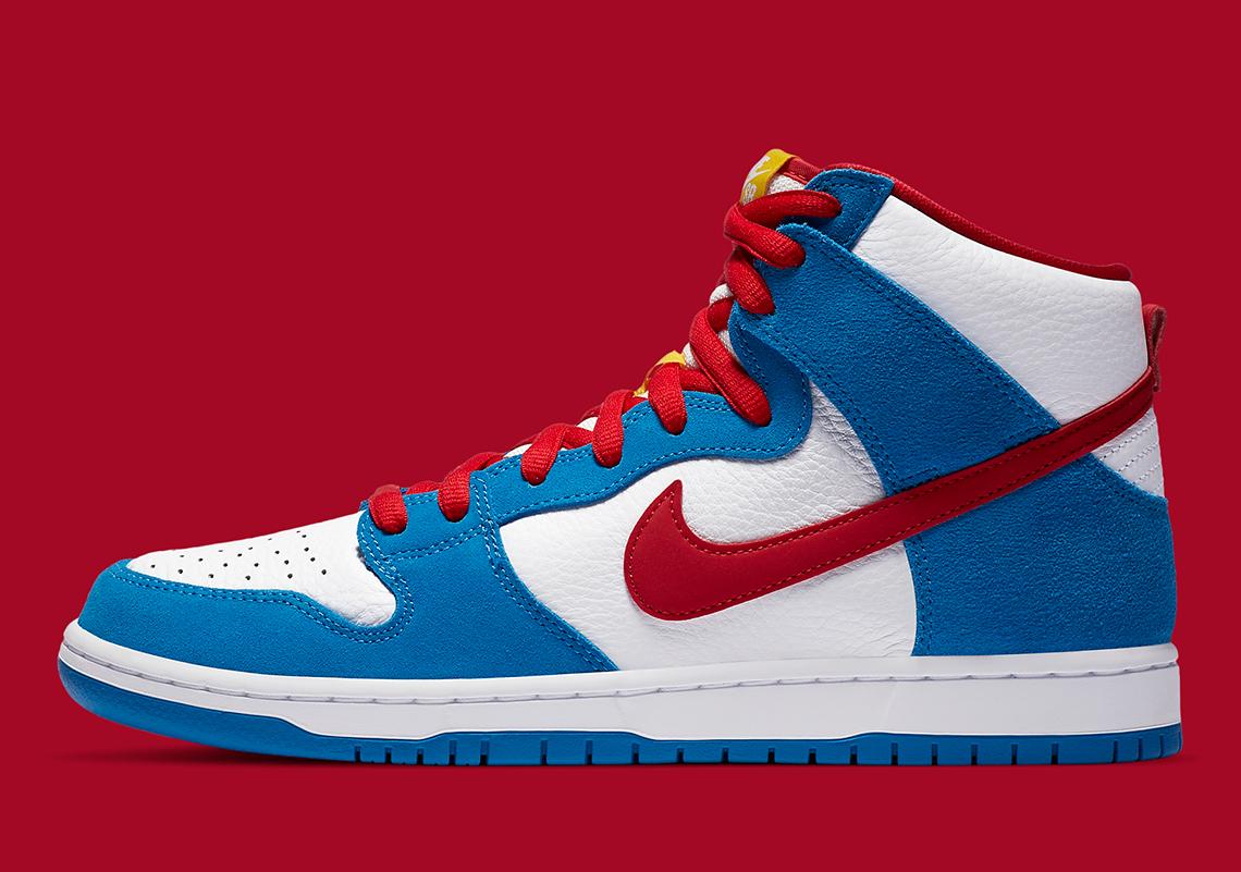 Nike SB Dunk High Doraemon CI2692-400
