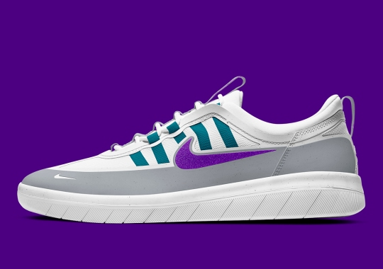 """The Nike SB Nyjah 2 Channels More Mid-90s Running With """"Grape"""" Colorway"""