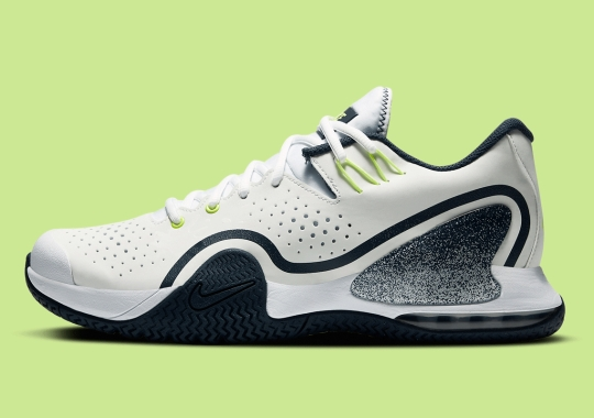 The NikeCourt Tech Challenge 20 Receives Navy And Hot Lime Upgrade