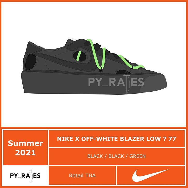 blazer off white retail