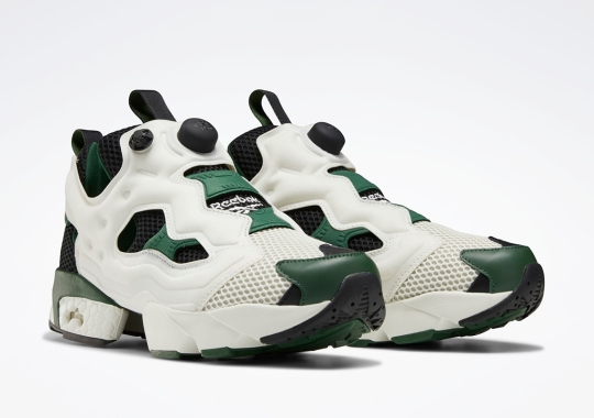 "The Reebok Instapump Fury OG Gets A Classic ""Utility Green"" Colorway"