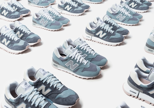 The Ronnie Fieg x New Balance 1300CL Capsule Releases Tomorrow