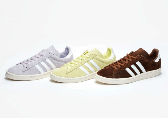 "Sneakersnstuff And adidas Originals Turn The Campus 80s Into Sweets With Exclusive ""Homemade Pack"""