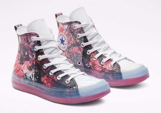 Shaniqwa Jarvis' Floral Print Converse Chuck Taylor All Star CX Releases August 13th