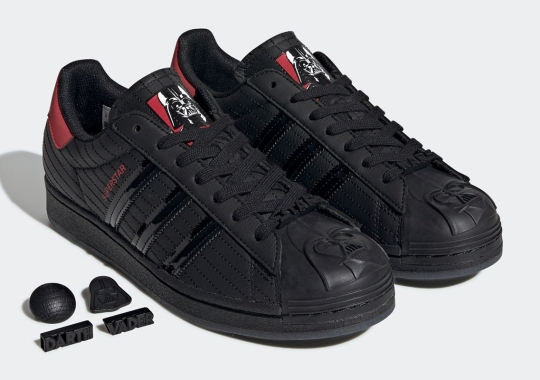 adidas Molds Darth Vader's Iconic Mask Onto The Superstar Shelltoe