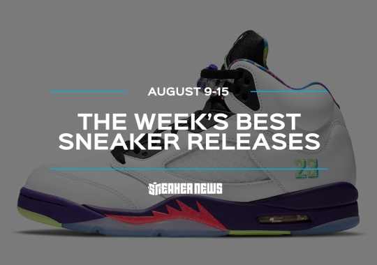"The Air Jordan 5 ""Bel-Air"" And Air Jordan 1 High Zoom ""Zen Green"" Lead This Week's Best Sneaker Releases"