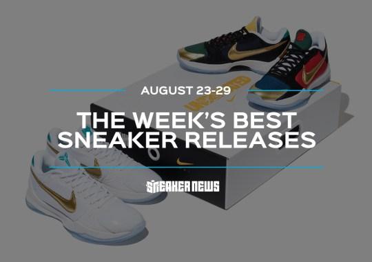 The UNION x Air Jordan 4s And Nike Kobe 5 Protros Lead This Week's Best Sneaker Releases