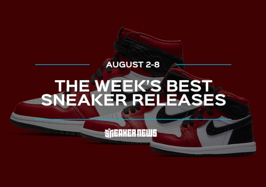 "The Air Jordan 1 ""Satin Red"" and Air Jordan 3 ""Denim"" Headline This Week's Best Sneaker Releases"