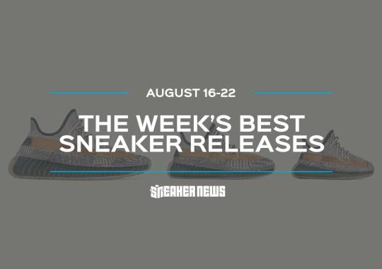 """The adidas Yeezy 350 """"Israfil"""" and Air Jordan 3 """"Laser Orange"""" Headline This Week's Best Sneaker Releases"""