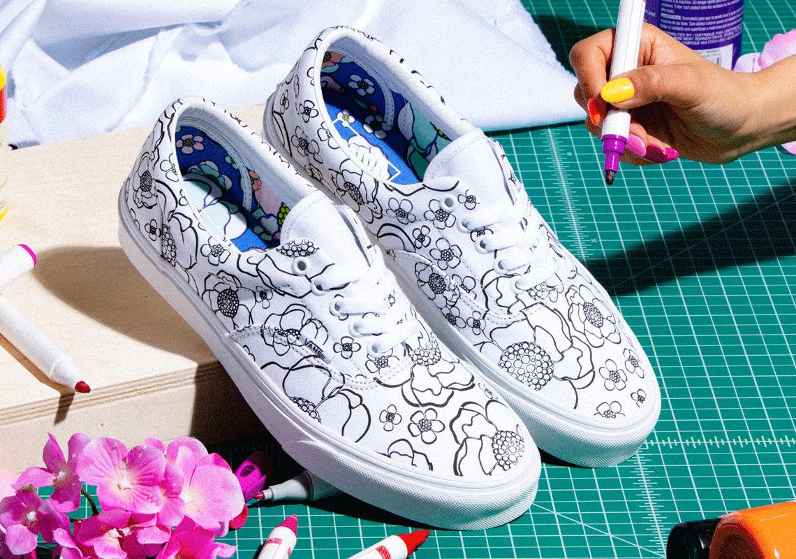 Vans Slip-On Era DIY U-Color White