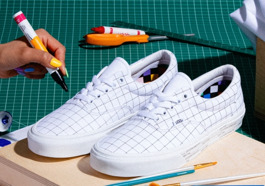 Vans Turns The Slip-On And Era Into Blank Canvases With U-Color Collection