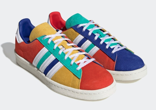 The adidas Campus 80s Gets A Vivid Multi-Colored Look