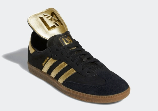 This adidas Samba Celebrates Los Angeles FC
