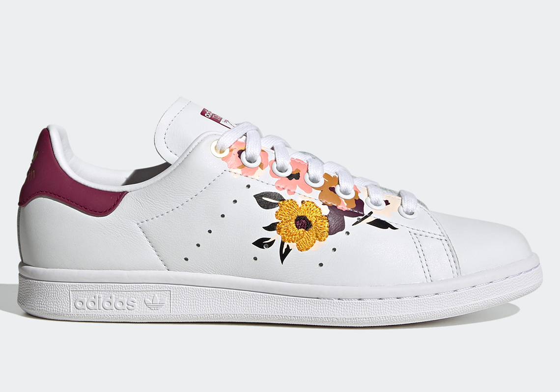 adidas stan smith broderie