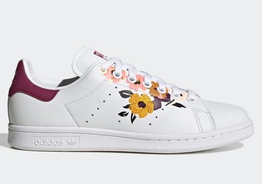 adidas Pairs The Stan Smith With Colorful Florals