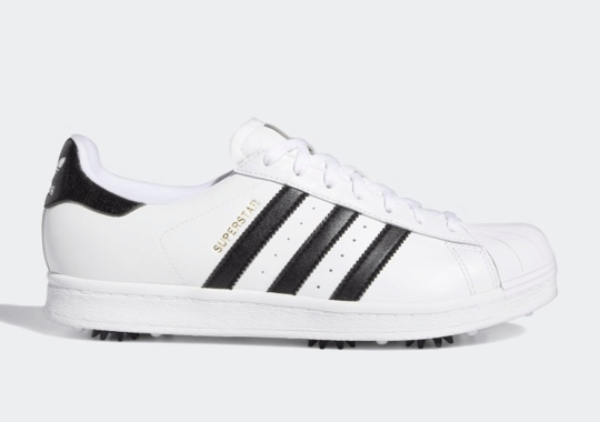 adidas Transforms the Superstar Into A Golf Shoe