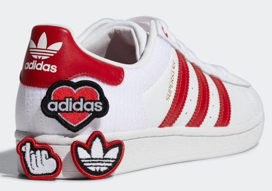 adidas Adds Velcro Patches To This Customizable Superstar