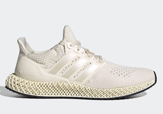 """The adidas Ultra 4D """"Triple White"""" Releases On December 14th"""