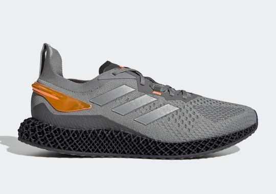 The adidas X90004D Is Arriving Soon In Grey Three And Signal Orange