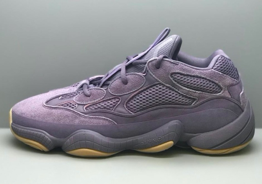 An adidas Yeezy 500 Sample In Lavender Has Surfaced