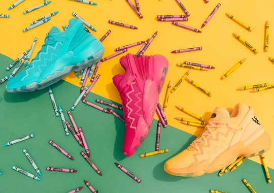 "Donovan Mitchell And Crayola Color Up The adidas Don Issue 2 ""Crayon Pack"""