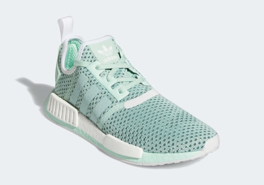 "The adidas NMD R1 Is Available Now In ""Blush Green"""