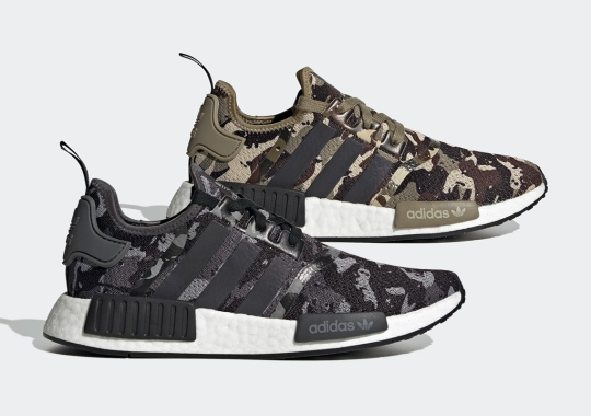 "adidas Is Dropping An NMD R1 ""Camo Pack"" In Two Colorways"