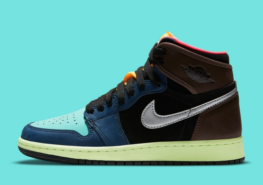 """The Air Jordan 1 Retro High OG """"Bio Hack"""" Is Dropping In GS Sizes"""
