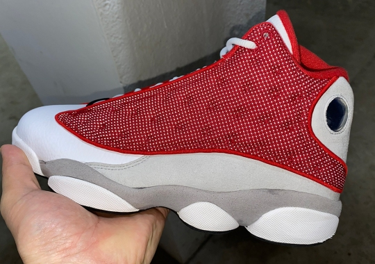 """The Air Jordan 13 """"Gym Red"""" Is Set For A Spring 2021 Release"""