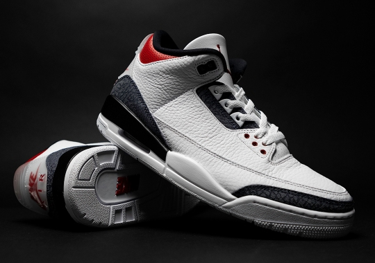 "Beauty Shots Of The Air Jordan 3 ""Japanese Denim"""