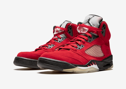 "Air Jordan 5 ""Raging Bull"" Expected To Return Spring/Summer 2021"