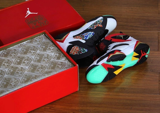 "The Air Jordan 7 ""China"" To Come With A Special Shoebox"