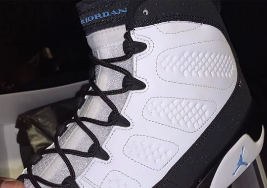 "First Look At The Air Jordan 9 ""University Blue"""