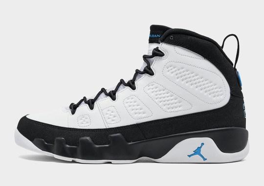 "Where To Buy The Air Jordan 9 ""University Blue"""
