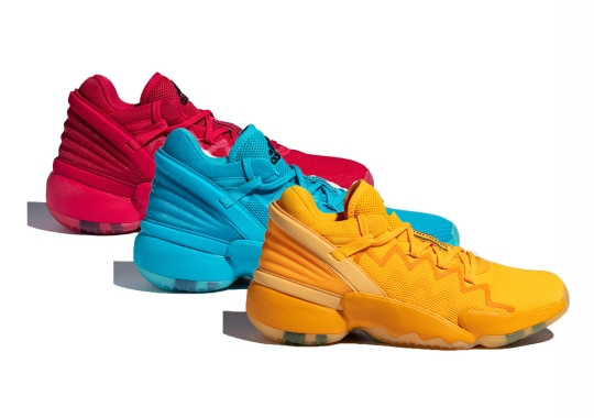 """Donovan Mitchell And Crayola Color Up The adidas Don Issue 2 """"Crayon Pack"""""""