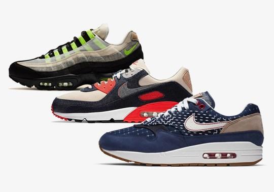 DENHAM To Release Their Nike Air Max Trio Throughout September