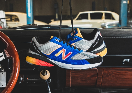 "DTLR Touches On Car Culture With The New Balance 990v5 ""American Muscle"""