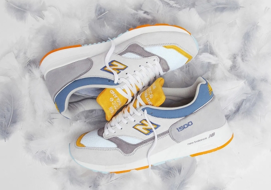 """END Reveals Their Upcoming Avian-Inspired New Balance 1500 """"Grey Heron"""" Collaboration"""