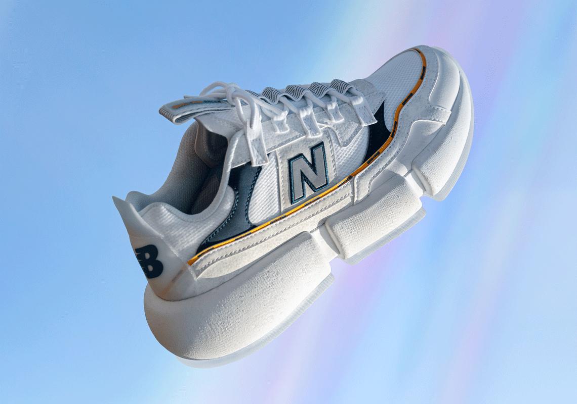 Jaden New Balance Vision Racer White