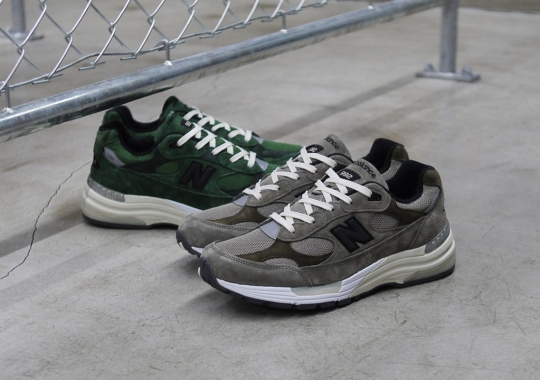 The JJJJound x New Balance 992 Is Releasing Again Globally