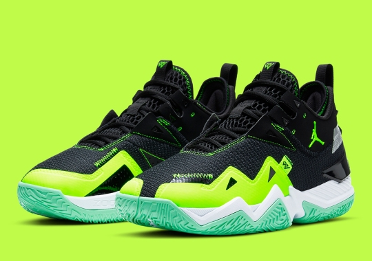 The Jordan Westbrook One Take Receives A Black And Neon Green Makeover