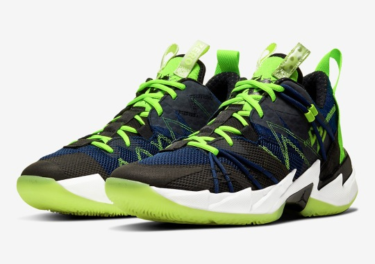 Jordan Why Not ZER0.3 SE Appears In Navy And Volt
