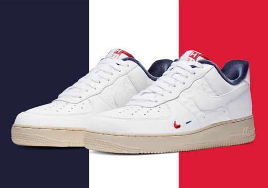 A Paris-Themed KITH x Nike Air Force 1 Is On The Way